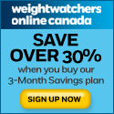 reduce weight with Weight Watchers Canada