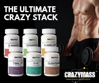 CrazyMass Ultimate Bodybuilding Stack