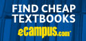 Need cash? Sell your used books to eCampus.com for top dollar. Free shipping! Image-3348226-10480084