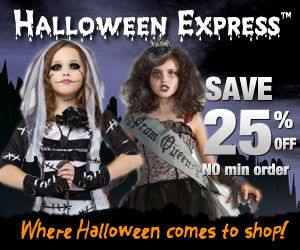 BOGO 25% Off at Halloween Express