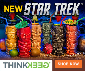 ThinkGeek - New Star Trek Products!
