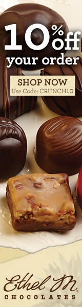 10% Off Your Order of Ethel M Chocolates. Use code: CRUNCH10