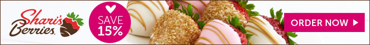 15% off Valentine's Day Strawberries & Sweet Treats (min $29)