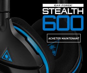 Stealth 600 casques de jeu pour PS4