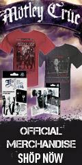 Motley Crue Official Merchandise- 2011