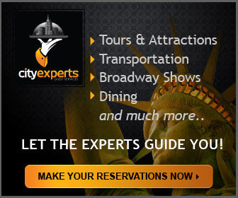 City Experts NY - New York City Double Decker Bus Sightseeing Tours, Attractions, Dining