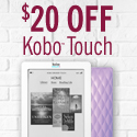 Save $20 on Kobo Touch - Ends Feb 14th