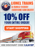 Find train gifts for kids at Lionel Trains!