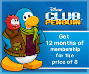 Find a gift of a virtual world at Disney Club Penguin