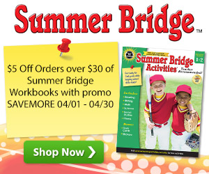 $5 Off Summer Bridge orders over $30