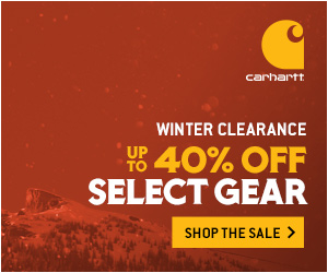 Winter Clearance- Up to 40% off Select Gear that Outworks Winter
