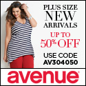 Avenue New Arrivals in sizes 14-32