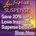 Save 20% off all Love Inspired Suspense Books