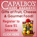 Valentine Baskets of Fruit, Cheese & Wine!
