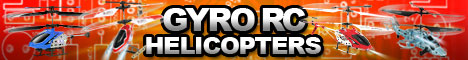 HobbyTron.com Gyro RC Helicopters
