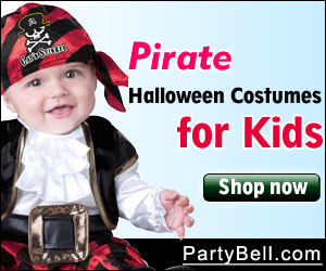 Kids Pirate Costumes - PartyBell.com
