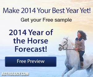Get a free sample Year of the Horse Forecast