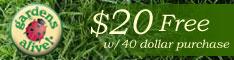 $20 off $40