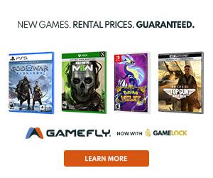 Gamefly Gift Certificate Banner - 300x250