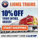 Shop Lionel Trains!