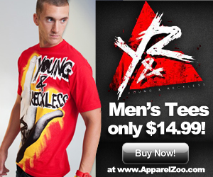 Mens Young & Reckless On SALE at ApparelZoo.com!