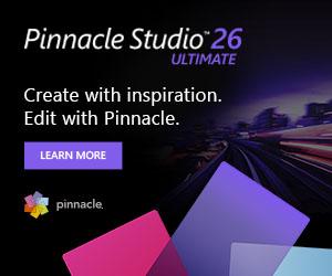 New! Pinnacle Studio 21 (UK)