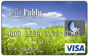 Public Savings Classic Black Secured Visa