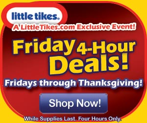 Hurry!  Four Hours Only ~ Little Tikes Cozy Convertible Only $34.99!