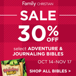 30% Off Select Adventure and Journaling Bible