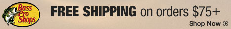 Bass Pro Shops - Free Shipping No Minimum with Code FREESHIP