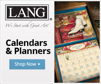 Shop LANG Calendars & Planners featuring Traditional, Contemporary and Folk Art!