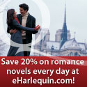 Save 20% on Romance Novels at eHarlequin.com