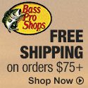 Bass Pro Shops - Free Shipping orders over $49 with code 49FREE