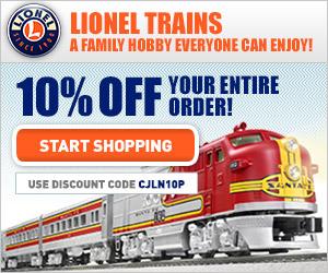 Shop Lionel Trains!