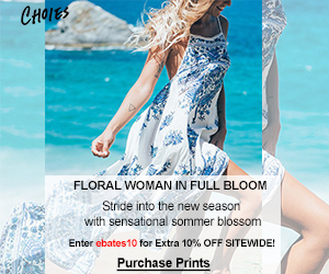 Floral Woman in Full