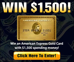 Win $1,500 American Express Card