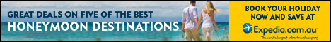 Great deals on the best Honeymoon Destinations!