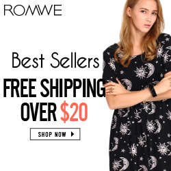 ROMWE Sweater promotion starts from $8.99, Availiable from Aug. 19th! Free shipping worldwide! SHOP