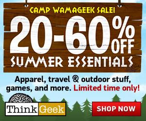 ThinkGeek Summer Sale