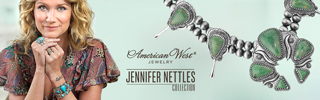 American West Jewelry Jennifer Nettles collection, made in Amerca