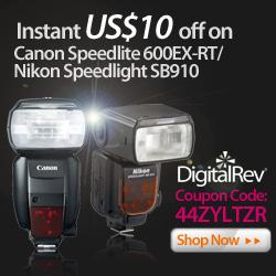 Canon 600-EX Nikon SB910