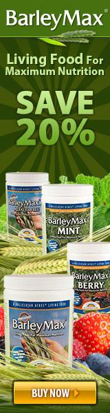 20% Off BarleyMax