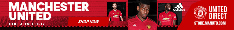 2018/19 Manchester United Home Kit