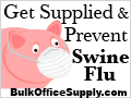 Swine Flu Prevention Supplies at Great Prices!