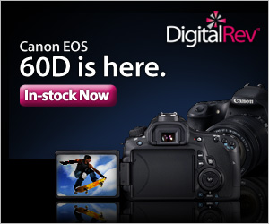 Canon EOS 60D is here and In Stock!