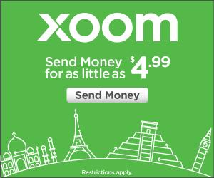 Envoyer de l'argent France aux frais de $4.99