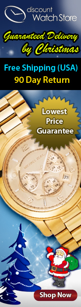 Free Shipping - Guaranteed by Christmas! DiscountWatchStore.com