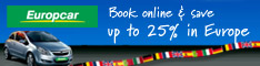 Europcar english 234x60 book online
