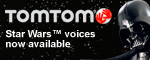 Star Wars voices now available for TomTom devices