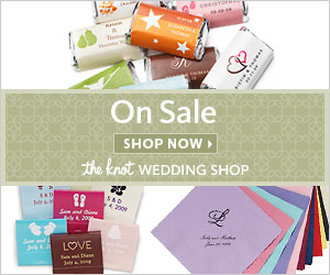On Sale This Week at The Knot Wedding Shop